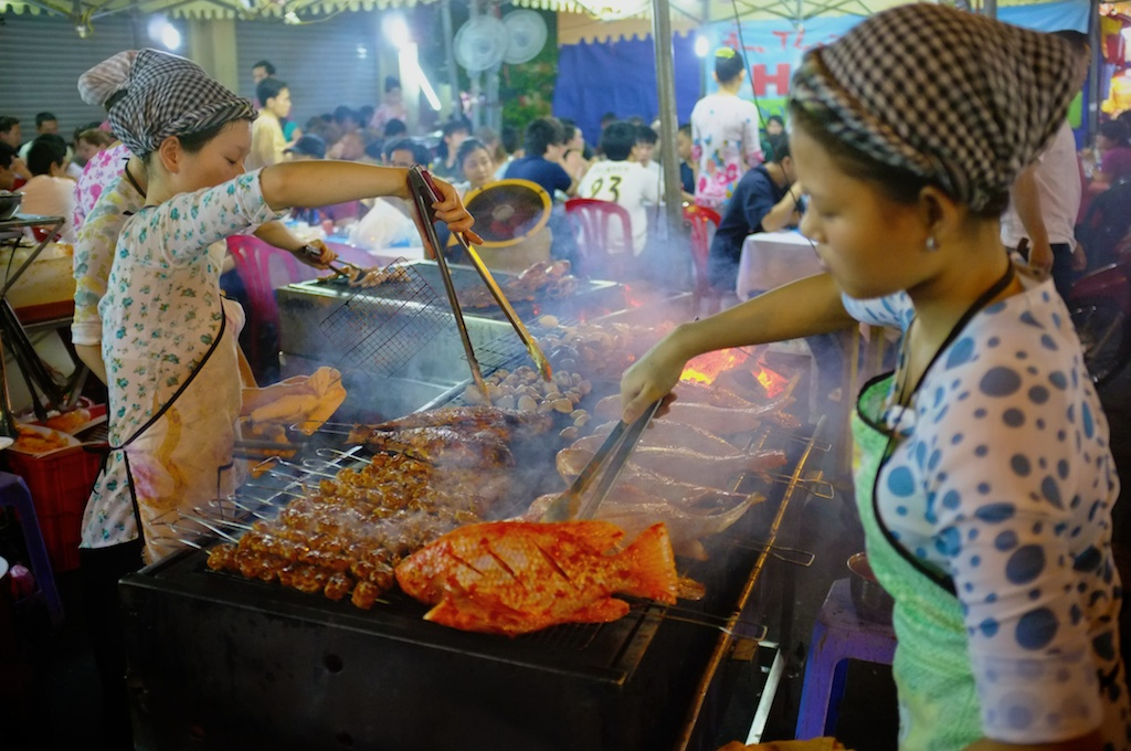 Street BBQ in Ho Chi Minh City