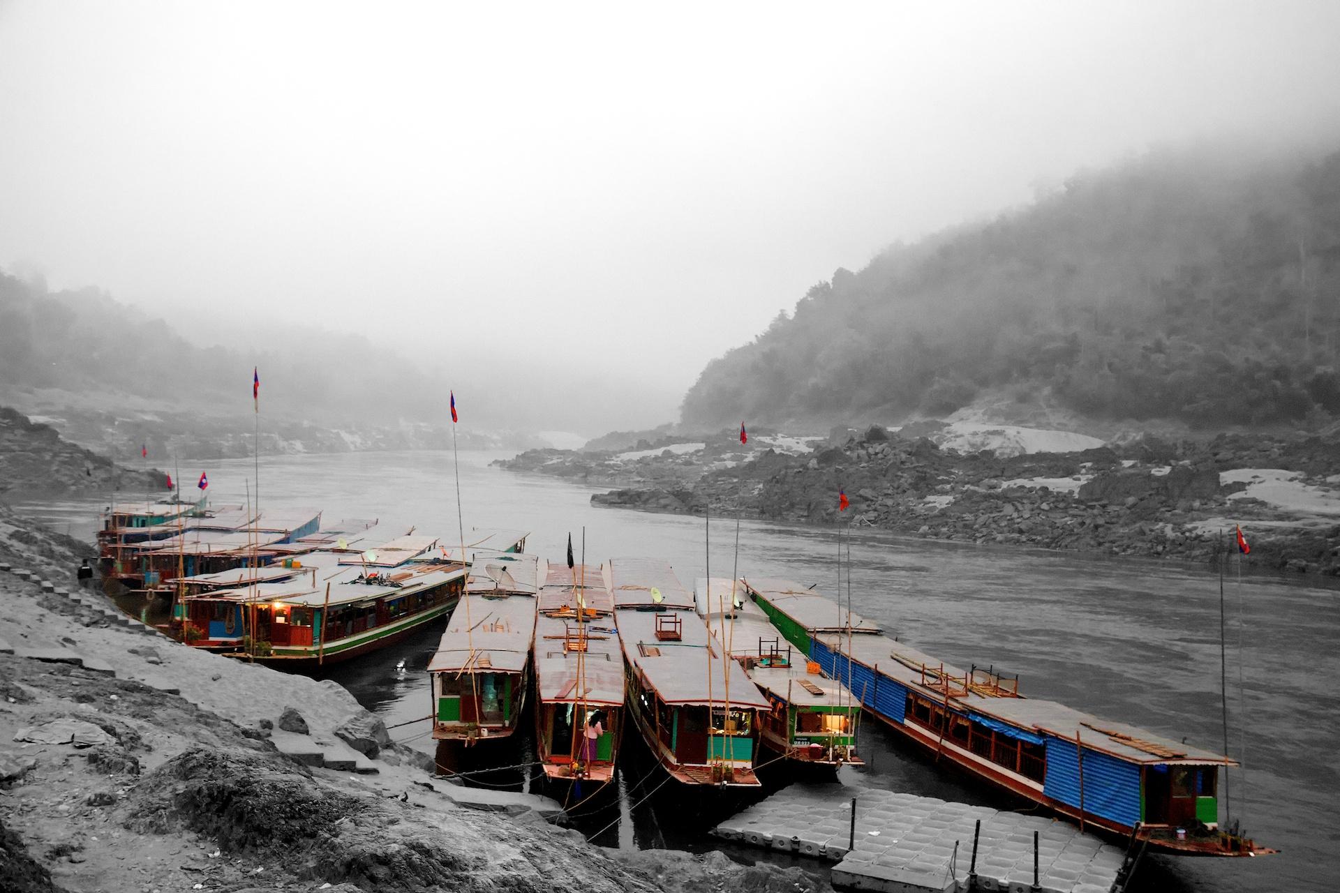 Mekong River Docks