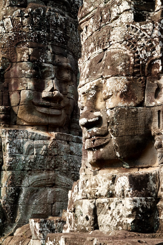 Two Faces at Bayon