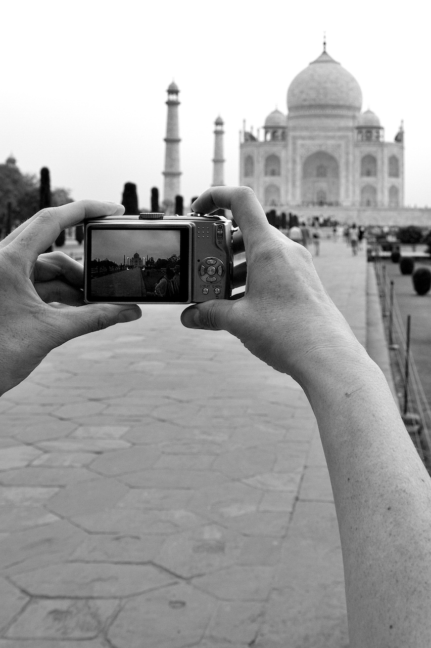 Picturing the Taj Mahal...
