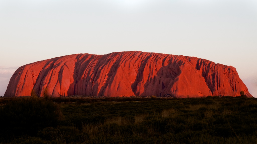 Uluru (Ayers Rock) at Sunset