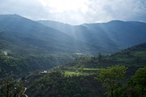 Sunray's in the valley...