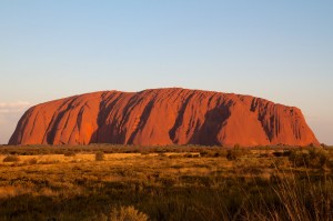 The most sacred Aboriginal site (Uluru, Australia)