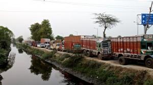 Just outside Varanasi, India