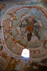 One of the cave churches of Goreme (Goreme, Turkey)