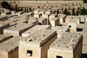 Graves on the Mount of Olives (Jerusalem, Israel)