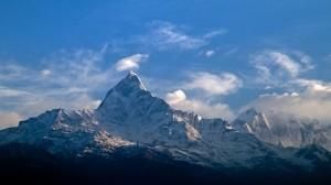 Machhapuchhre peak...